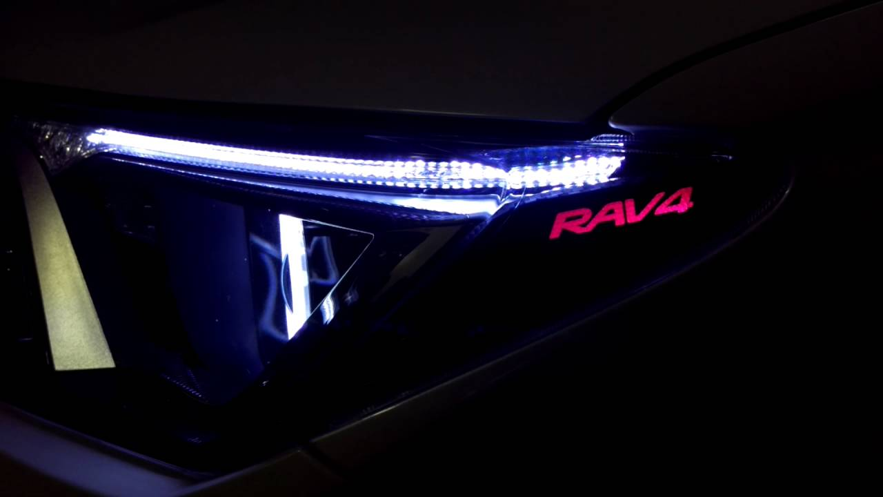 Tuning Faros Toyota Rav4 2016 Argollas Grabado Letras