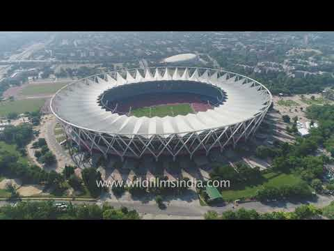 JN Stadium in Delhi: national stadium of India with 60, 000 capacity