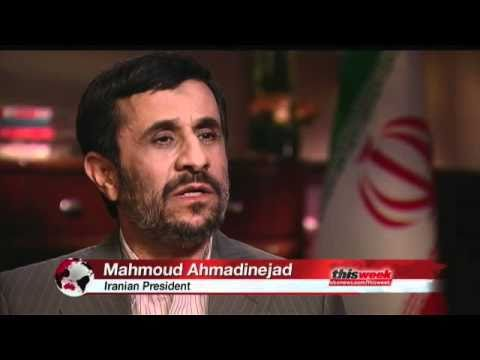 Interview With Mahmoud Ahmadinejad
