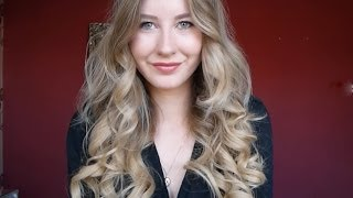 TUTORIAL: How to create big, glamorous, voluminous curls with Jose Eber curling wand | She Goes Wear