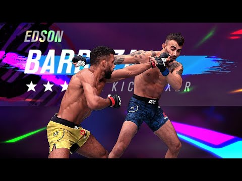 To Whom It May Concern.... Edson Barboza DESERVES A Speed Buff!