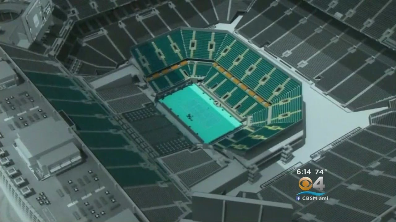 hard rock stadium makeover underway to host miami open next year