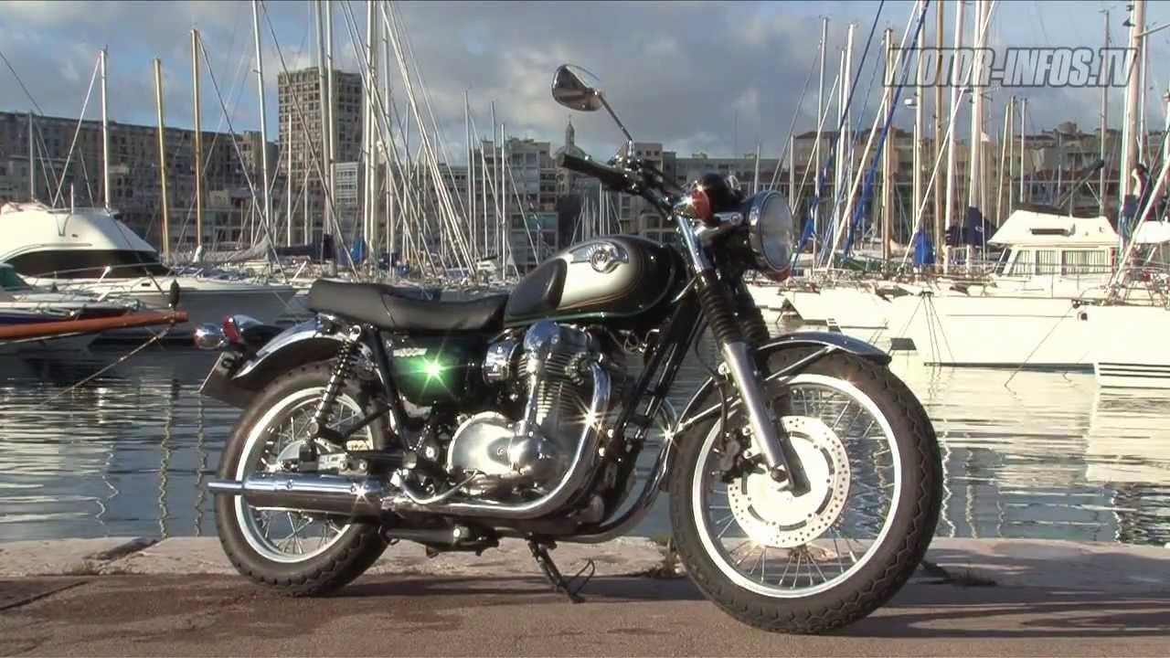 Essai Kawasaki W800 - YouTube