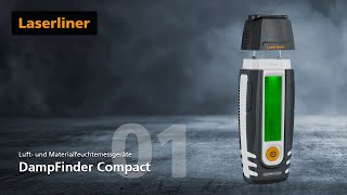 Laserliner - DampFinder Compact - 082.015A