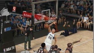 NBA 2K15 Xbox One My Career - My First Dunk!!!| & 1st OOP| Episode 4/ Part 4 Thumbnail