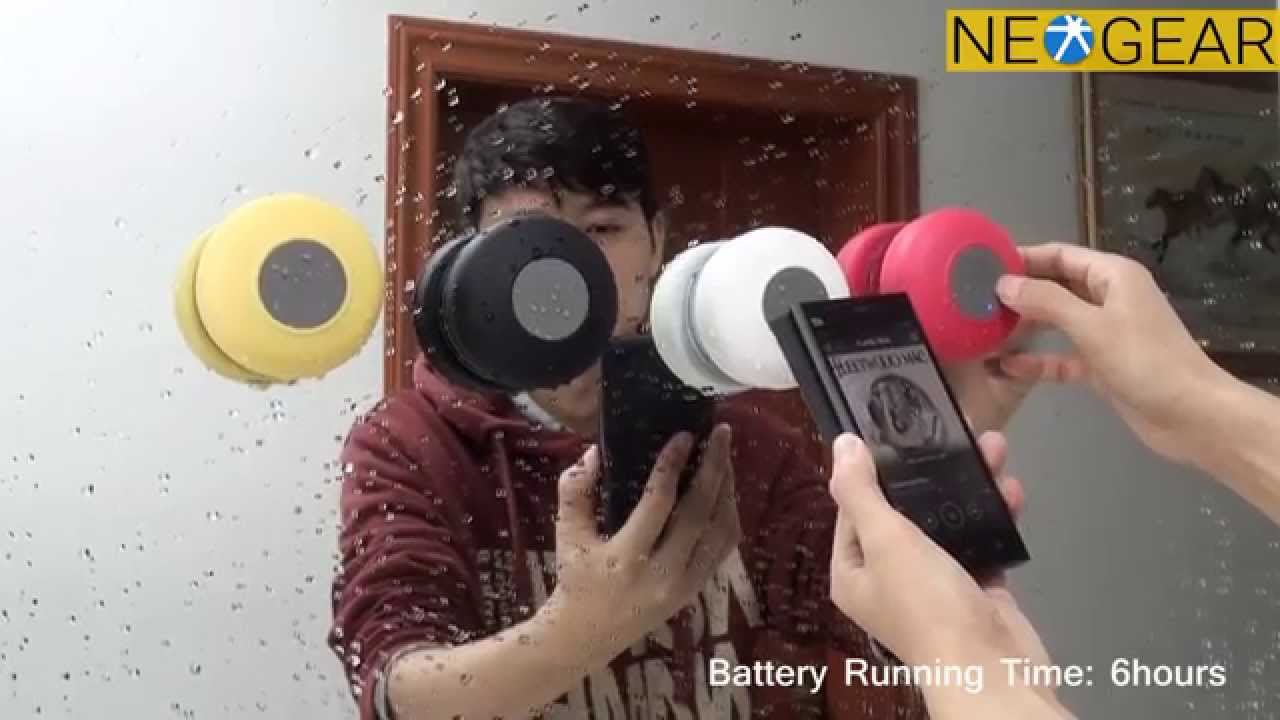 Bluetooth Shower Speaker Review Youtube Waterproof Bts 06 Original