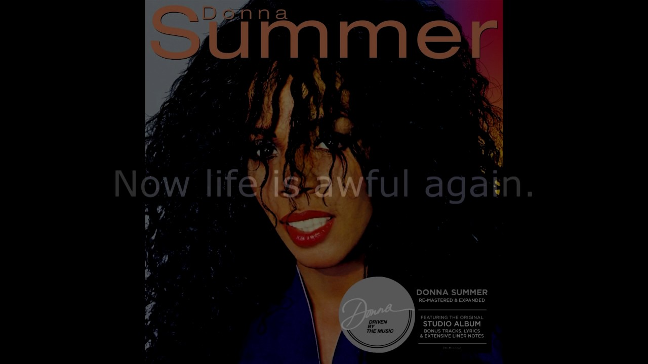 Donna Summer - My Life Lyrics | Musixmatch
