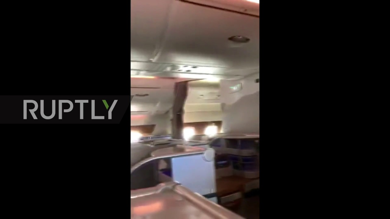 Emirates stewardess recycles USED champagne for business class passengers