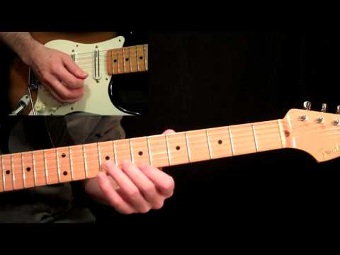 Stevie Ray Vaughan - Pride And Joy Guitar Lesson Pt.1 - Intro