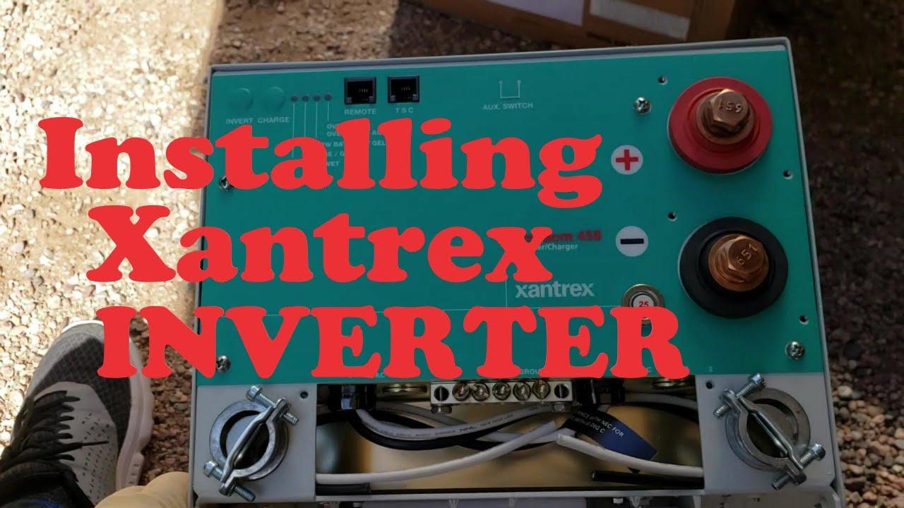 Installing a Xantrex Freedom 458 Inverter/Charger - YouTubeYouTube