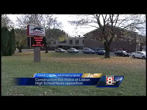 Lisbon residents talk about school gym contract
