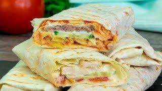 Знаменитая Шаурма по турецкому рецепту теперь у вас дома! Удиви своих близких! | Appetitno.TV