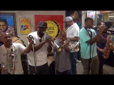 Rebirth Brass Band @ Louisiana Music Factory JazzFest 2014