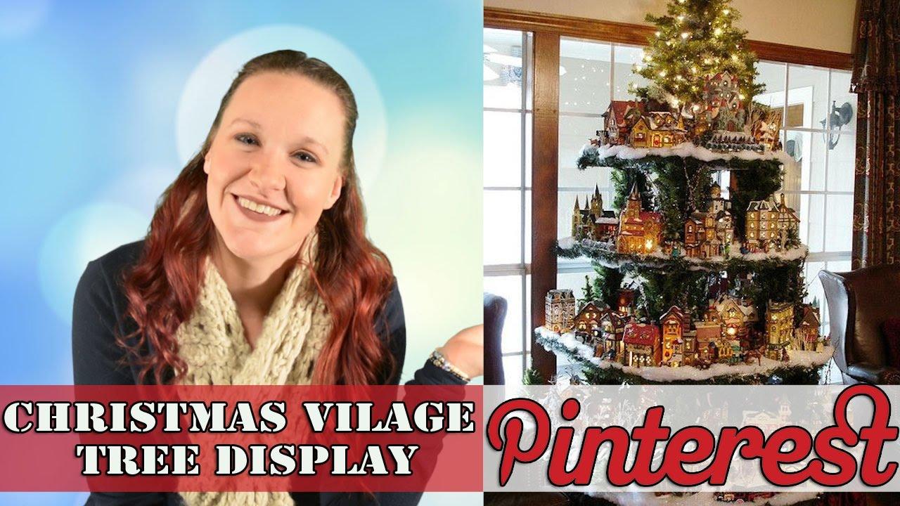 DIY Christmas! - Village Tree - Pinterest - YouTube