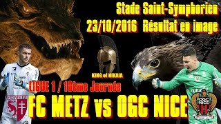 Video Gol Pertandingan FC Metz vs OGC Nice