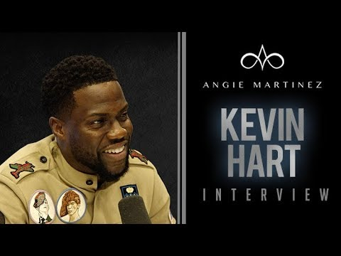 Angie Martinez - Kevin Hart Talks Upcoming Serious Role, Will Smith + Cosby Conviction