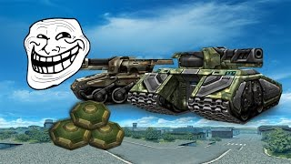 Tanki Online Trolling - Killing Using Mines #1