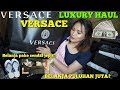 KE VERSACE PAKE SENDAL JEPIT?!! Versace BIG HAUL! | Dinda Shafay (Bahasa)