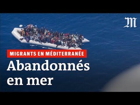 Les images des migrants abandonnés en Méditerranée