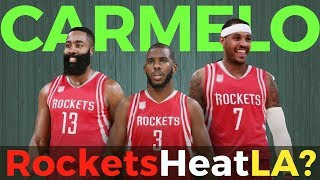 Carmelo Anthony Trade Options: Rockets, Heat or Lakers?