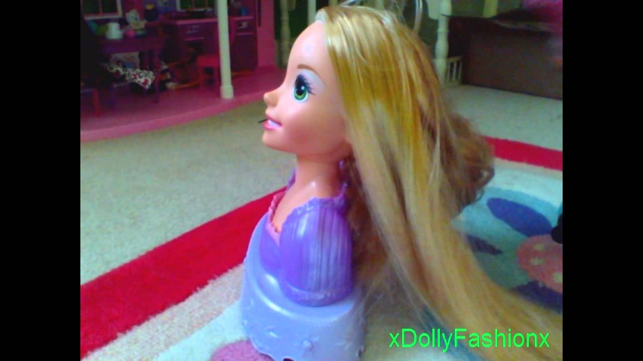 How To Untangle Your Doll S Hair Youtube