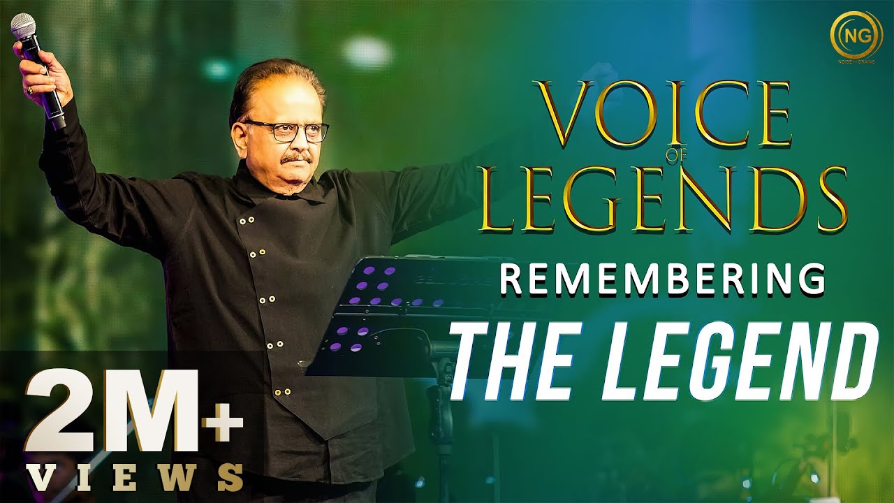 Download Remembering the Legend   SP Balasubrahmanyam   Voice of Legends   Noise and Grains