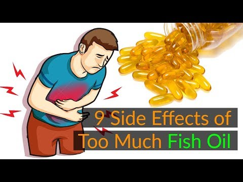 9 Little Known Side Effects Of Too Much Fish Oil | Side Effects Of Fish Oil Capsule