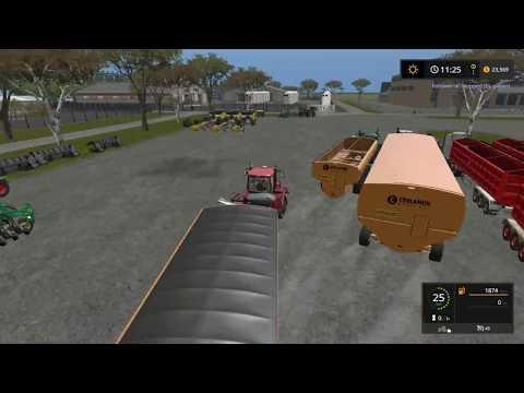 Farming simulator 17 Timelapse Australian x16 Map Broad acres Ep#18