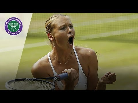 Maria Sharapova vs Serena Williams: Wimbledon final 2004  Highlights