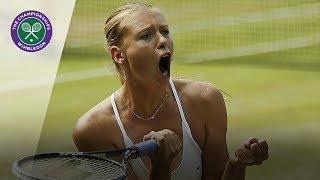 Maria Sharapova Vs Serena Williams: Wimbledon Final 2004 Extended Highlights