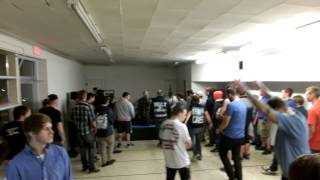 """""""Brothers in Arms"""" For the Fallen Dreams at the Southside Slammer, Elmira New York, 10-21-2013"""