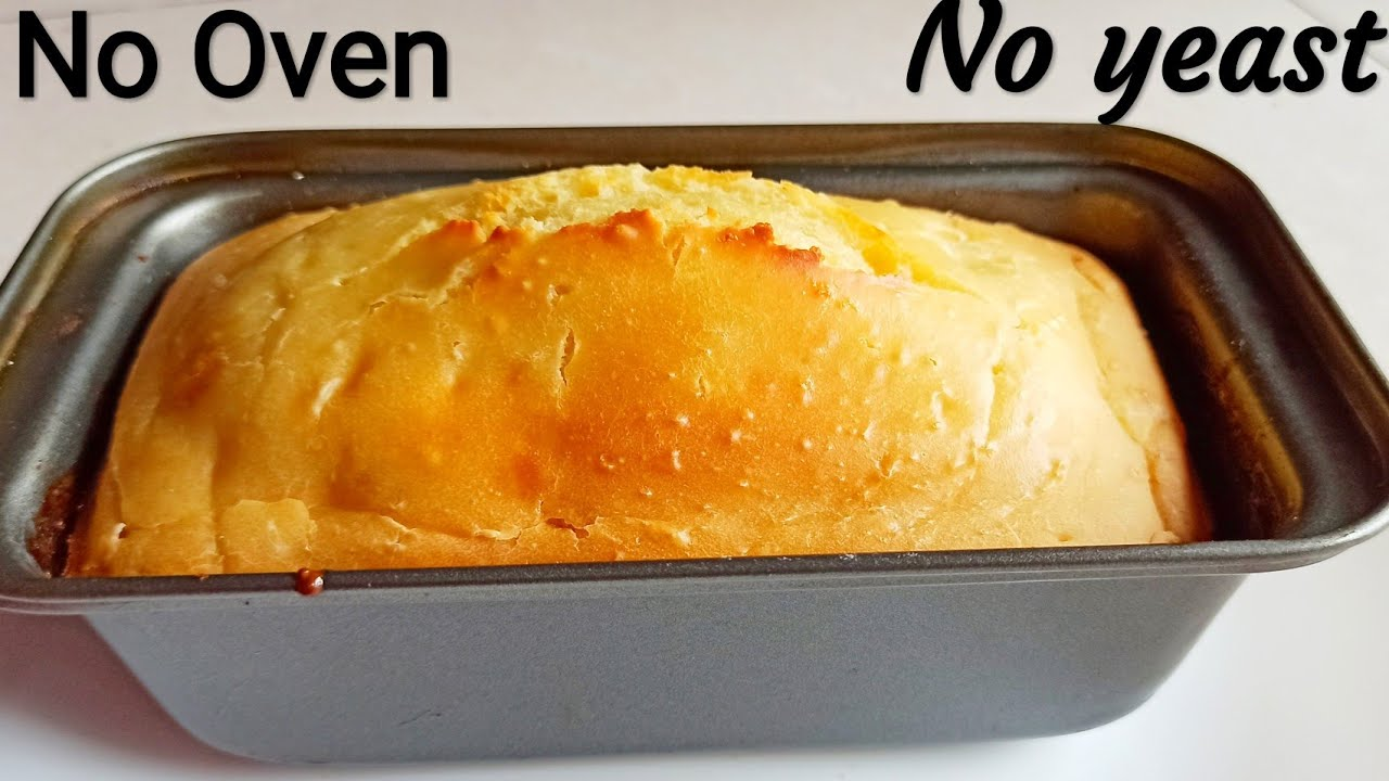 No YEAST bread recipe/homemade bread without yeast ...