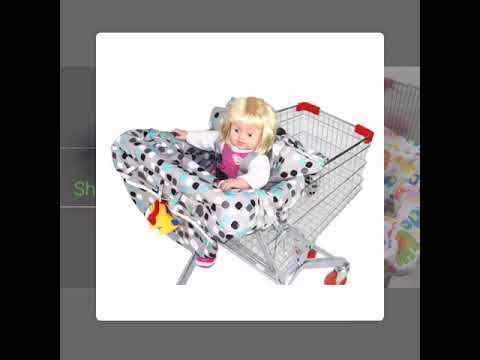 Shopping cart cover & high chair cover