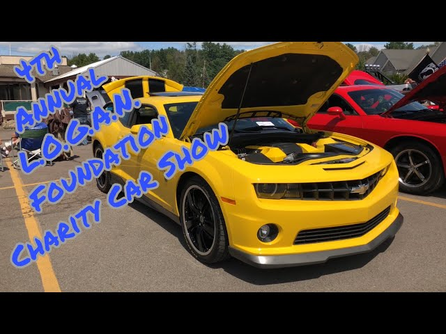 L.O.G.A.N. Foundation Has A Car Show At Harveys Lake, PA