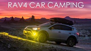 Toyota RAV4 Adventure Cąr Camping in Trona Pinnacles