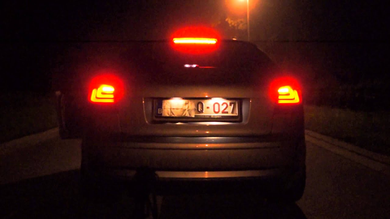 Audi A3 Led Verlichting Dectane Black Smoke Led Audi A3 8p 2 Tdi Youtube