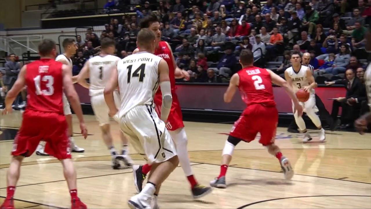 newest 030c4 be8b5 Recap: Army Men's Basketball vs. Boston University 2-24-18