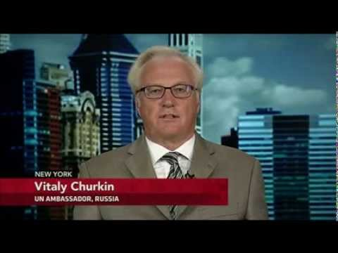 Syria   PBS Interview of Vitaly Churkin   September 10, 2013
