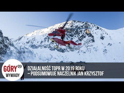 Działalność TOPR W 2019 Roku - Podsumowuje Naczelnik Jan Krzysztof