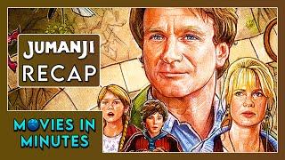 JUMANJI In 4 Minutes (Movie Recap)