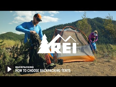 How to Choose Backpacking Tents
