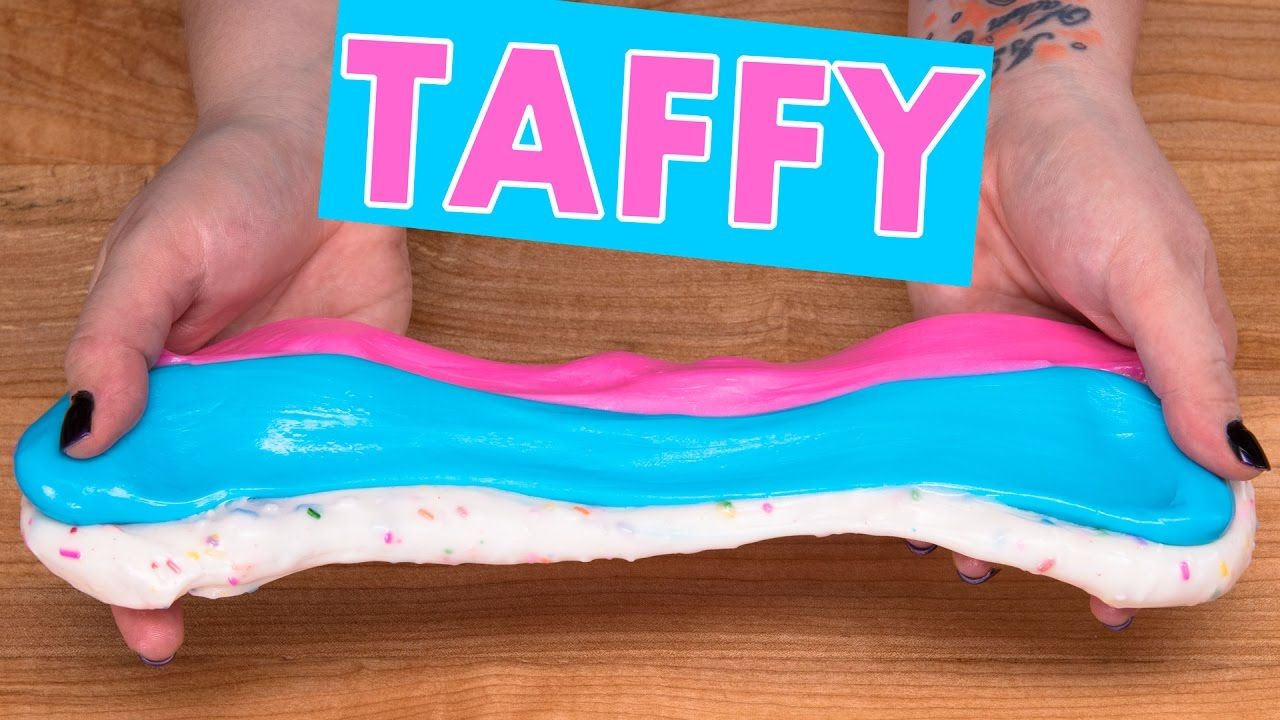 Homemade Taffy Candy Recipe / Salt Water Taffy (Cotton Candy