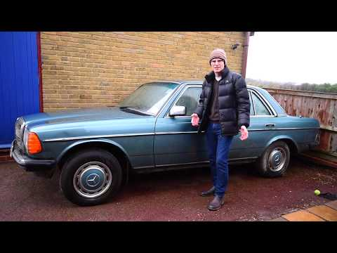 Matts Garage: Barn Find Benz - I found a Mercedes W123 IN A BARN!!