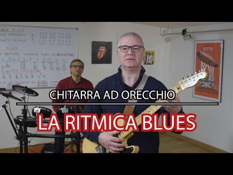 IL BLUES - LA RITMICA NELLA CHITARRA AD ORECCHIO - TUTORIAL #10