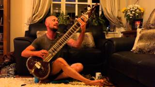 Paul pre radio performance Blues number on sitar Let me fly