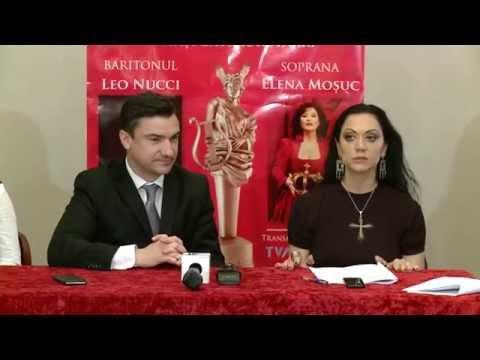 20 11 2015 Conferinta de presa la Opera Iasi: Beatrice Rancea si Mihai Chirica