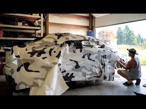 Vinyl Wrapping At Home With Amazing Results!