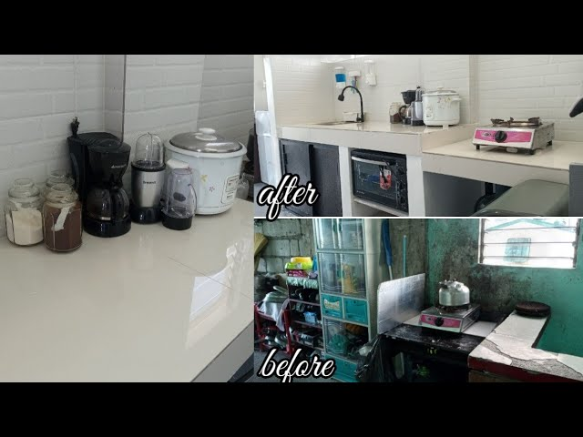 Dirty Kitchen Makeover Reveal Home Diy Ph Youtube