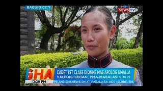 BT: Dionne Mae Apolog Umalla, magtatapos bilang valedictorian ng Mabalasik Class of 2019 ng PMA
