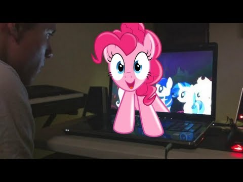 Broken Screen Wallpaper 3d An Unexpected Visit From Pinkie Pie Youtube